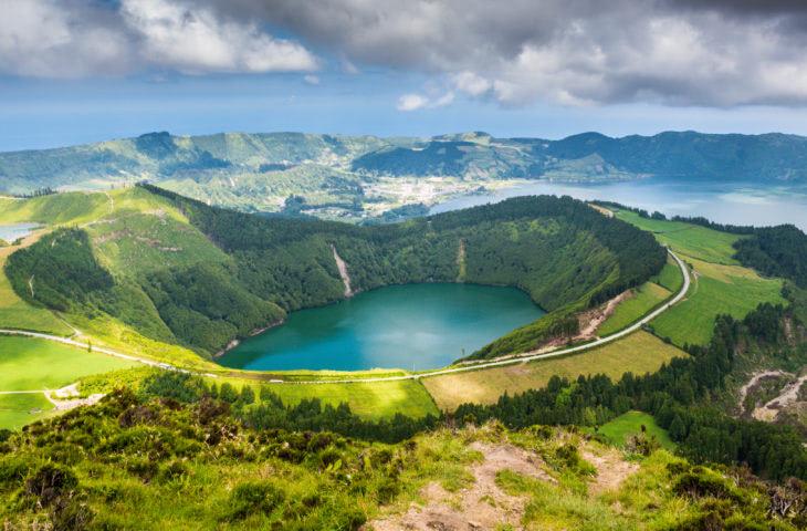 Voyage organisé aux Açores et vue sur le Lac Sete Cidades