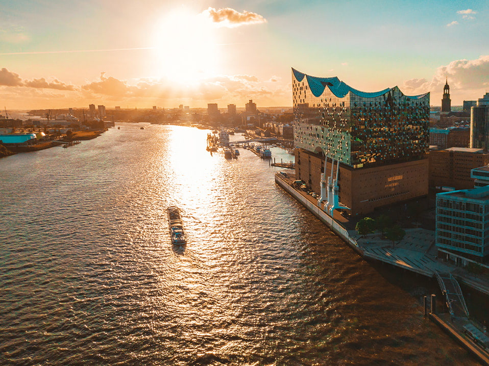 Hambourg & mini-croisière Southampton
