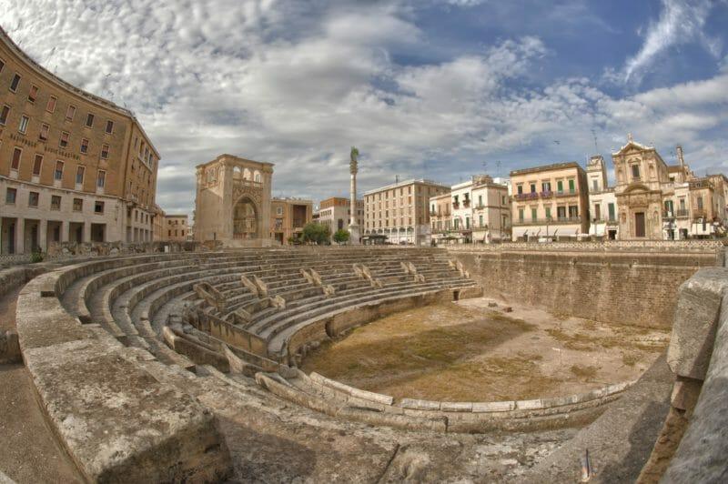 Escale à Lecce lors d'un circuit dans les Pouilles