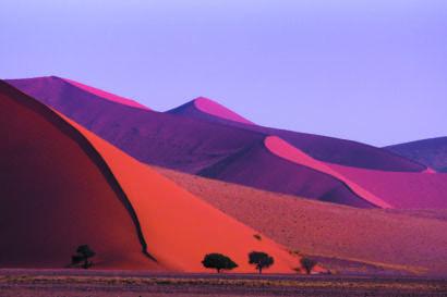 Voyage en groupe en Namibie au désert de Sossuvlei