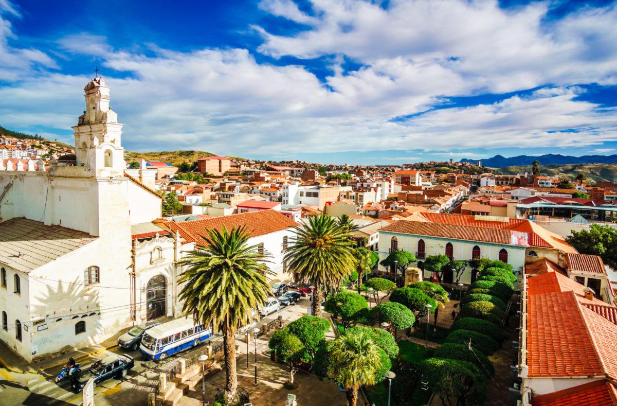 Visiter la Ville colonial Sucre Bolivie