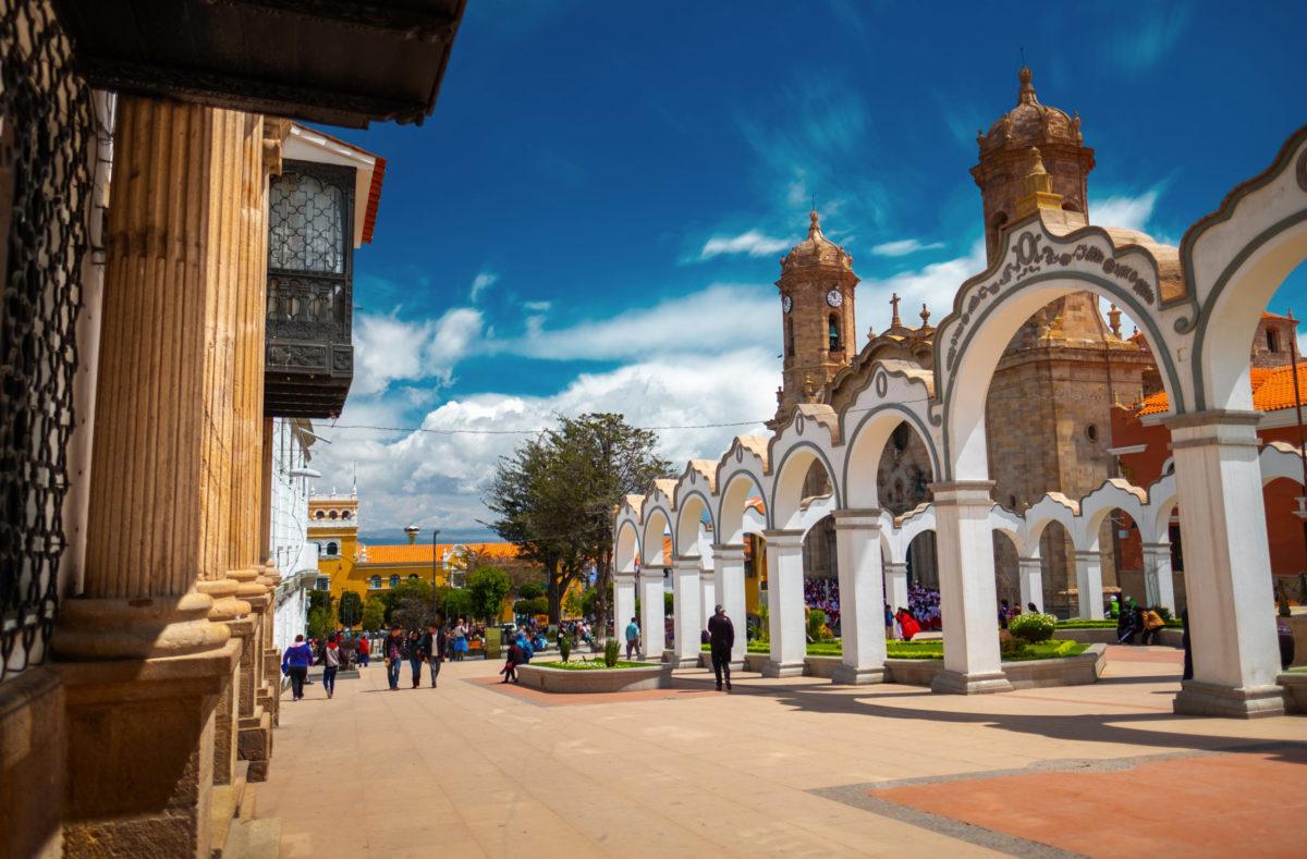 Visiter le centre de la ville de Potosi, Bolivie