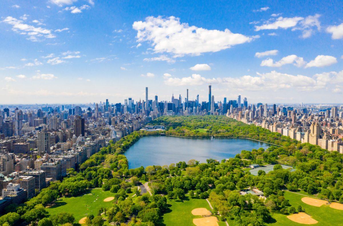 Vue sur Central Park à New York