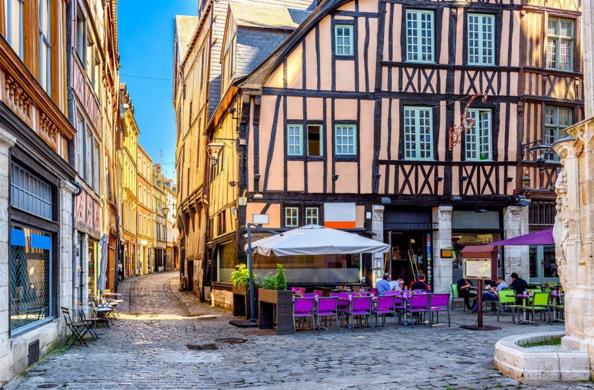 Visite de Rouen en Normandie
