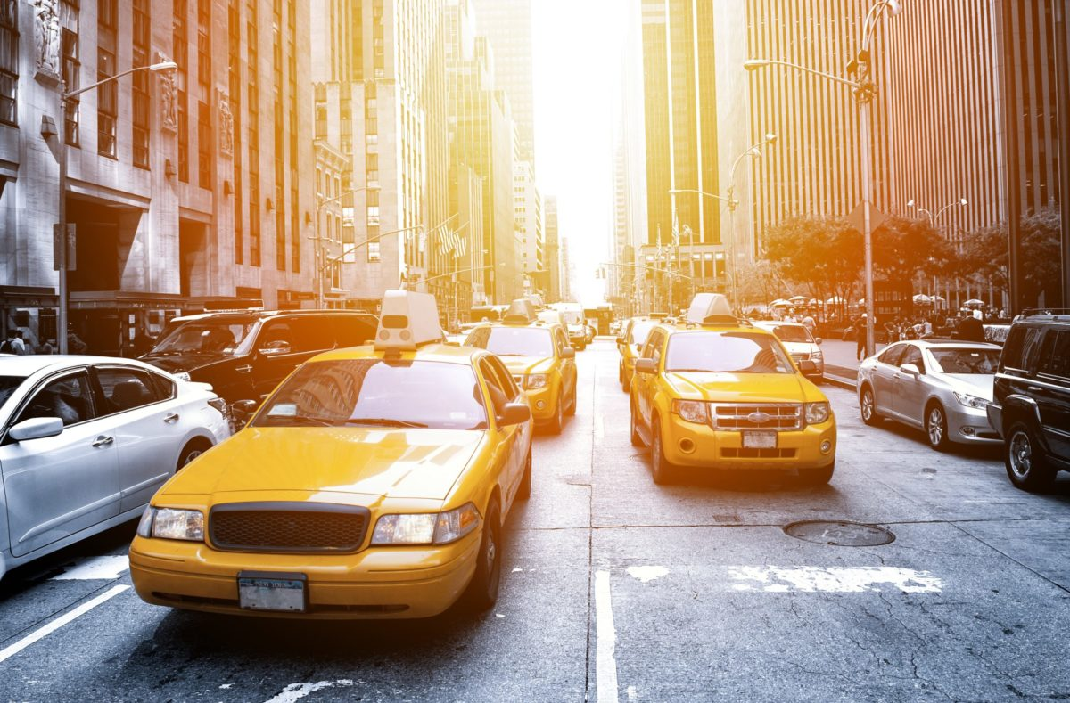 Taxis new-yorkais à Manhattan