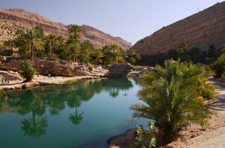Visiter les wadis lors d'un circuit organisé à Oman