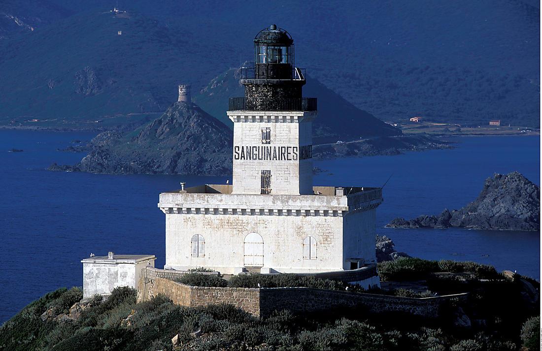 Archipel des Sanguinaires en Corse