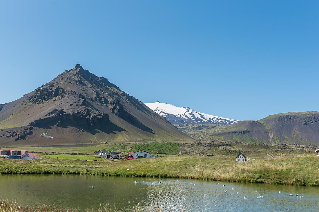 Kirkjutell en Islande
