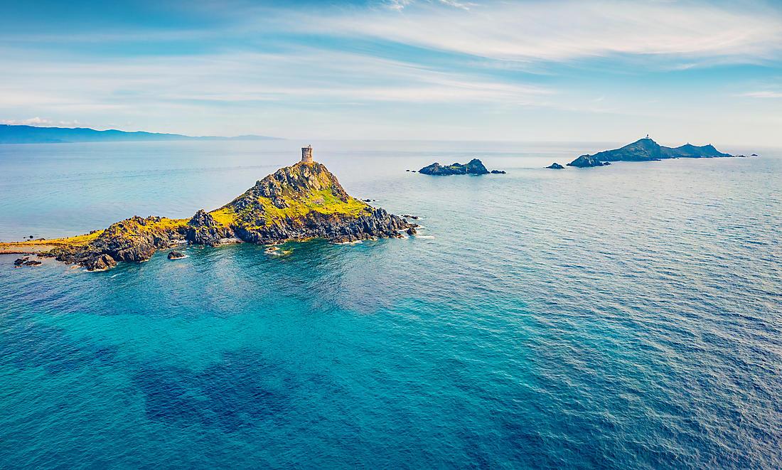Pointe de la Parata en Corse