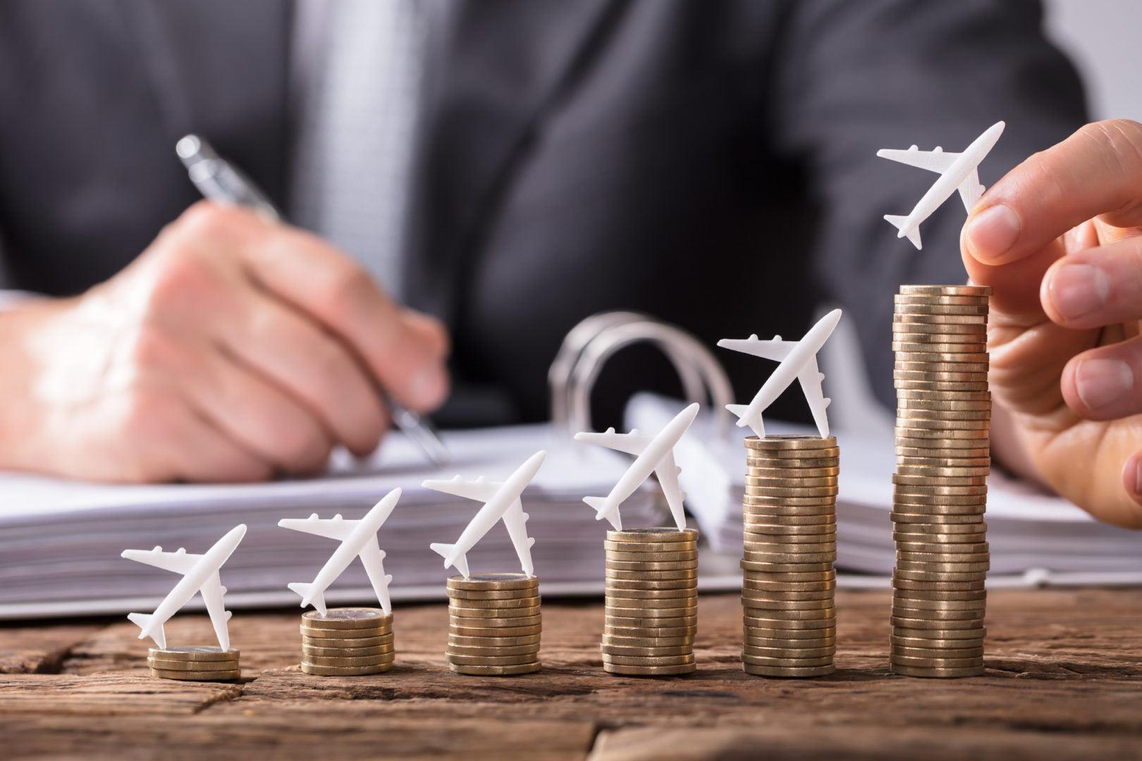 Les vols en avion n'ont pas le même coût