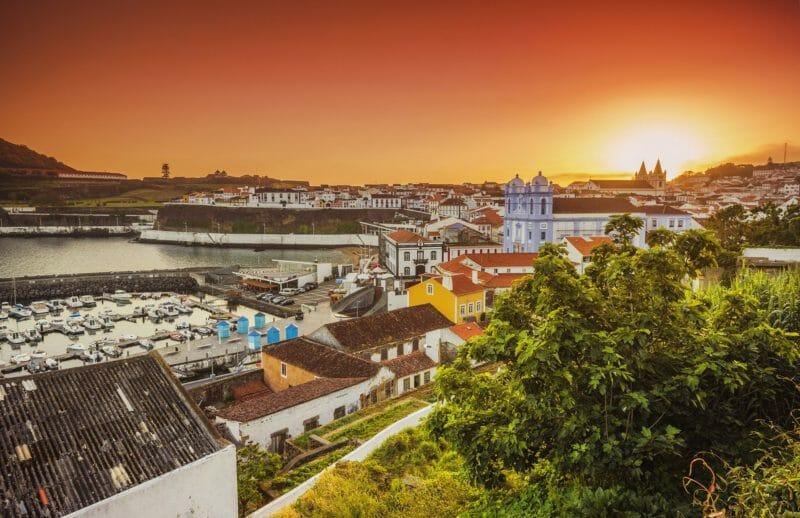 Voyage organisé aux Açores en groupe et visite d'Angra de Heroismo