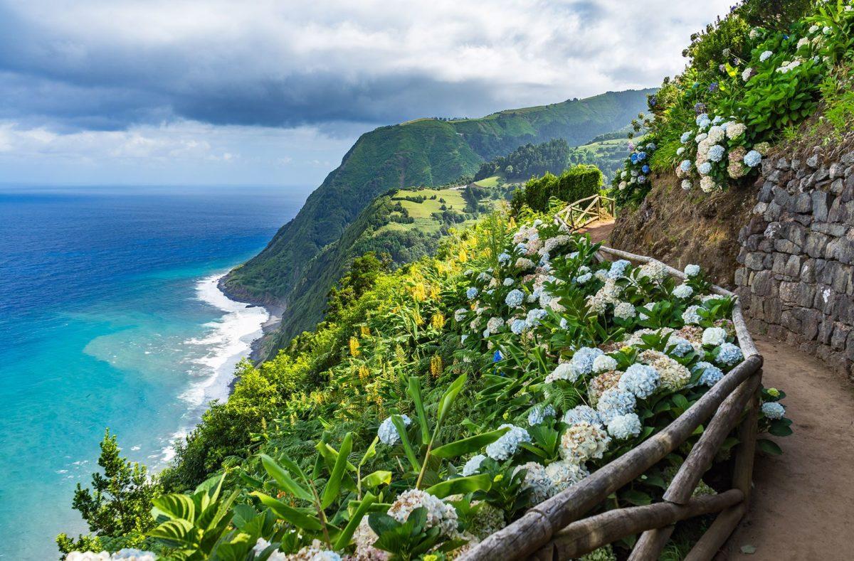 Randonnée à San Miguel en voyage organisé aux Açores en groupe
