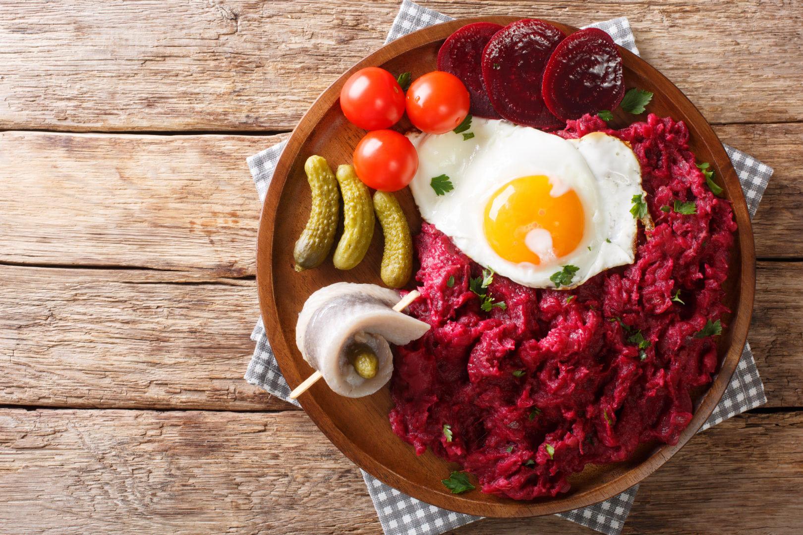Labskaus spécialité culinaire d'Allemagne