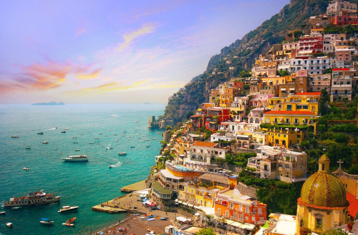 Nouvel An en Italie sur la Côte amalfitaine à Positano