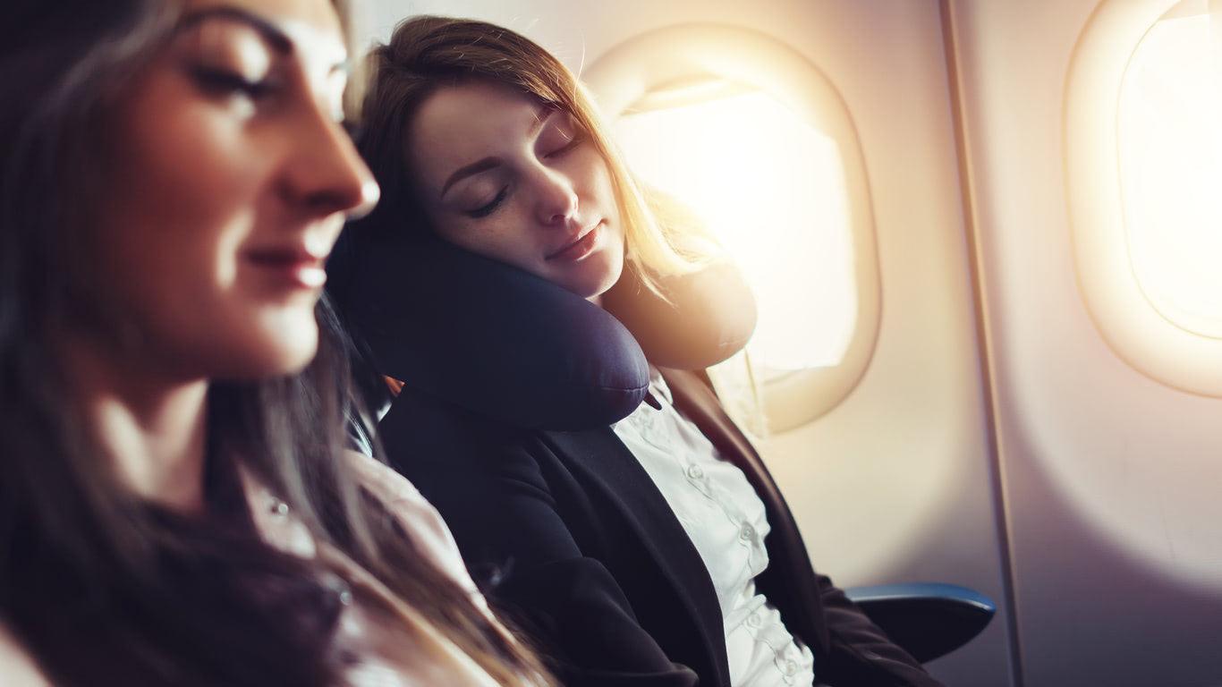 Un bon tour de coup pour un long voyage en avion