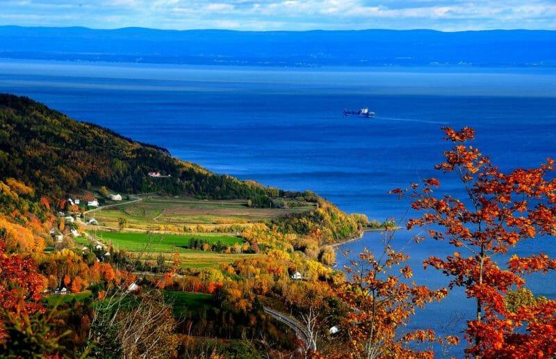 Charlevoix en voyage organisé au Québec en automne