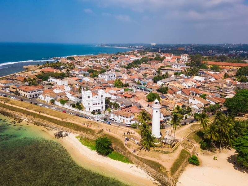 Visite de la ville de Galle et de son fort Sri Lanka