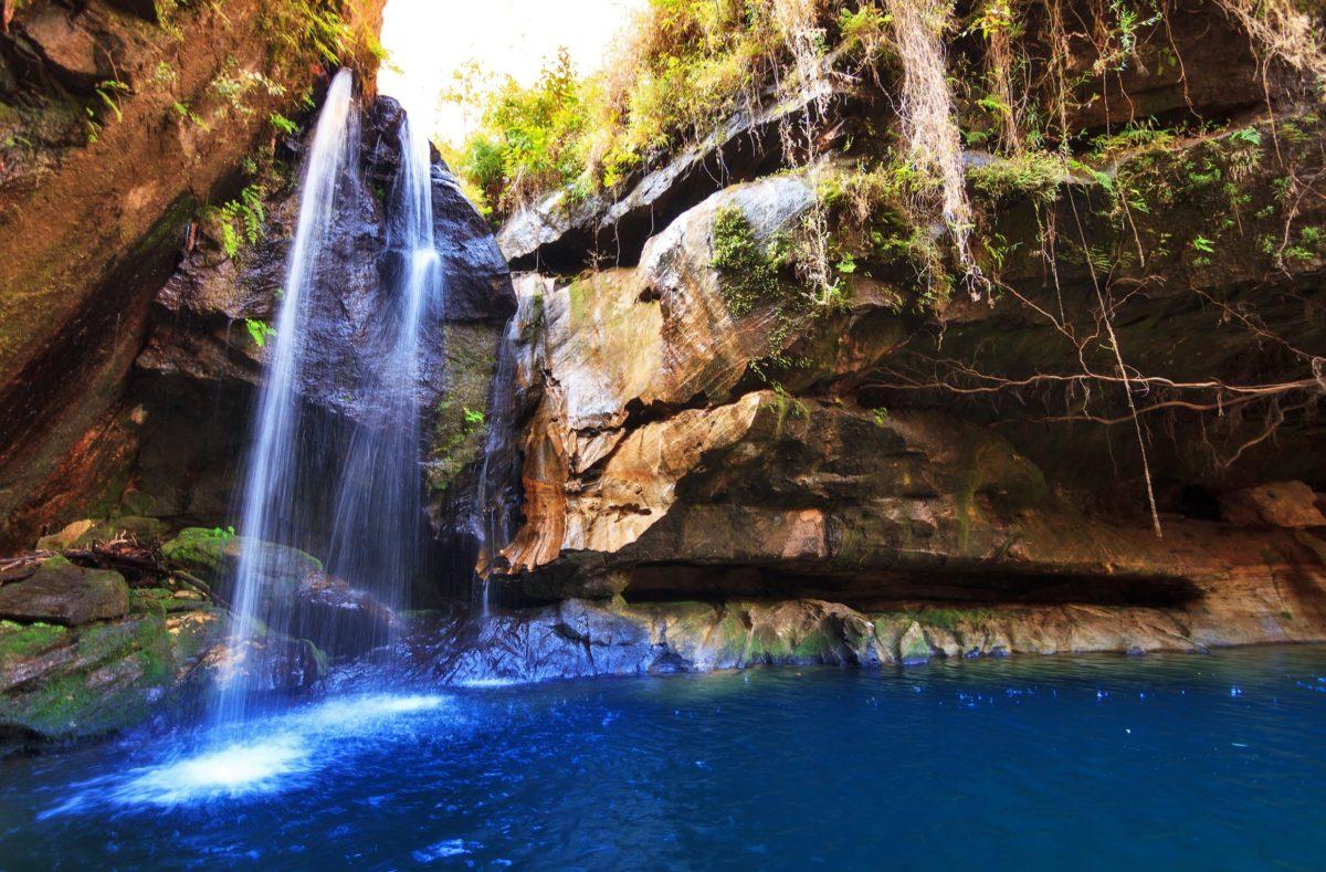 Cascade parc national d'Isalo