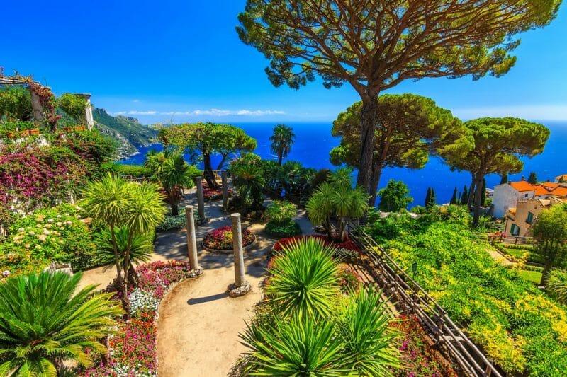 Passer Nouvel An sur la côte amalfitaine, Ravello