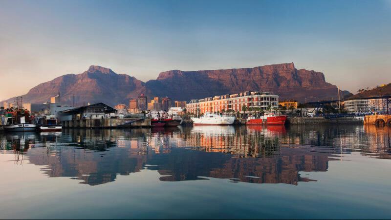 V&A Waterfront Cape Town Voyage en groupe Afrique du Sud