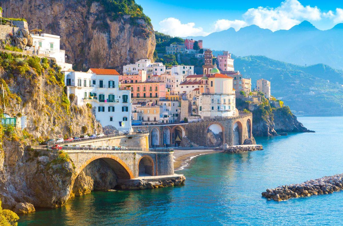 Nouvelan an sur la côte amalfitaine, Amalfi