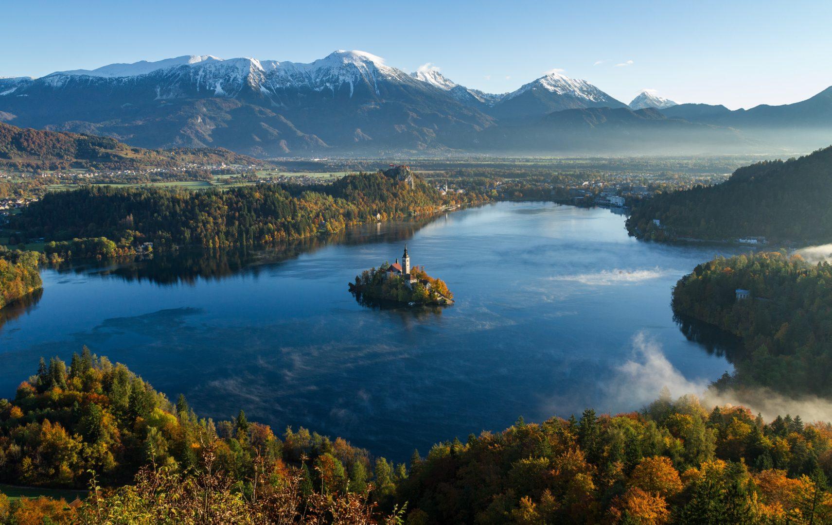 Lac de Bled un des plus beaux lacs d'Europe