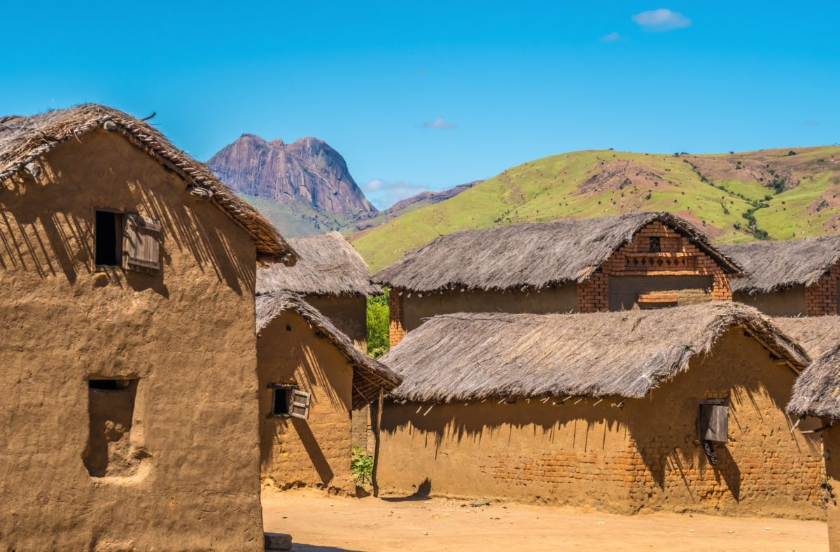 maisons typiques sud Madagascar