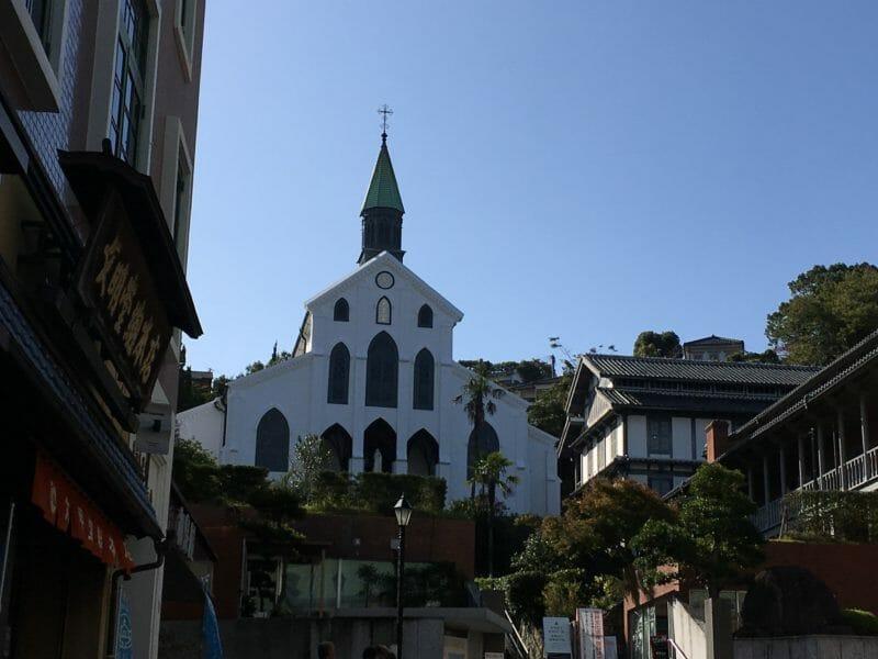 Nagasaki en voyage en groupe au Japon en automne