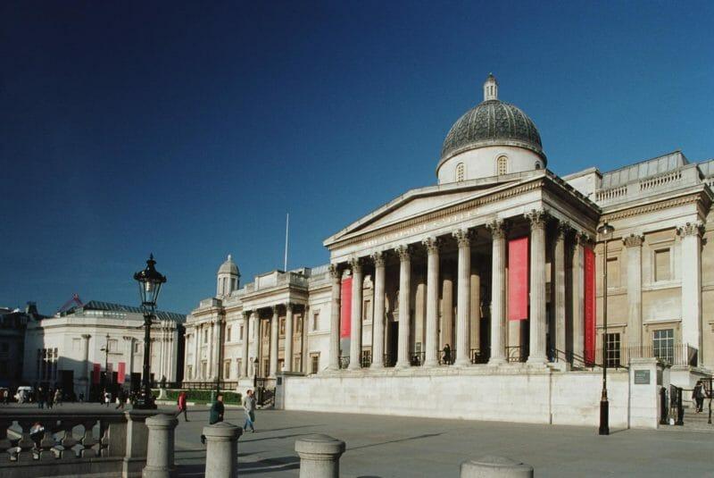 National Gallery à visiter en voyage en groupe à Londres