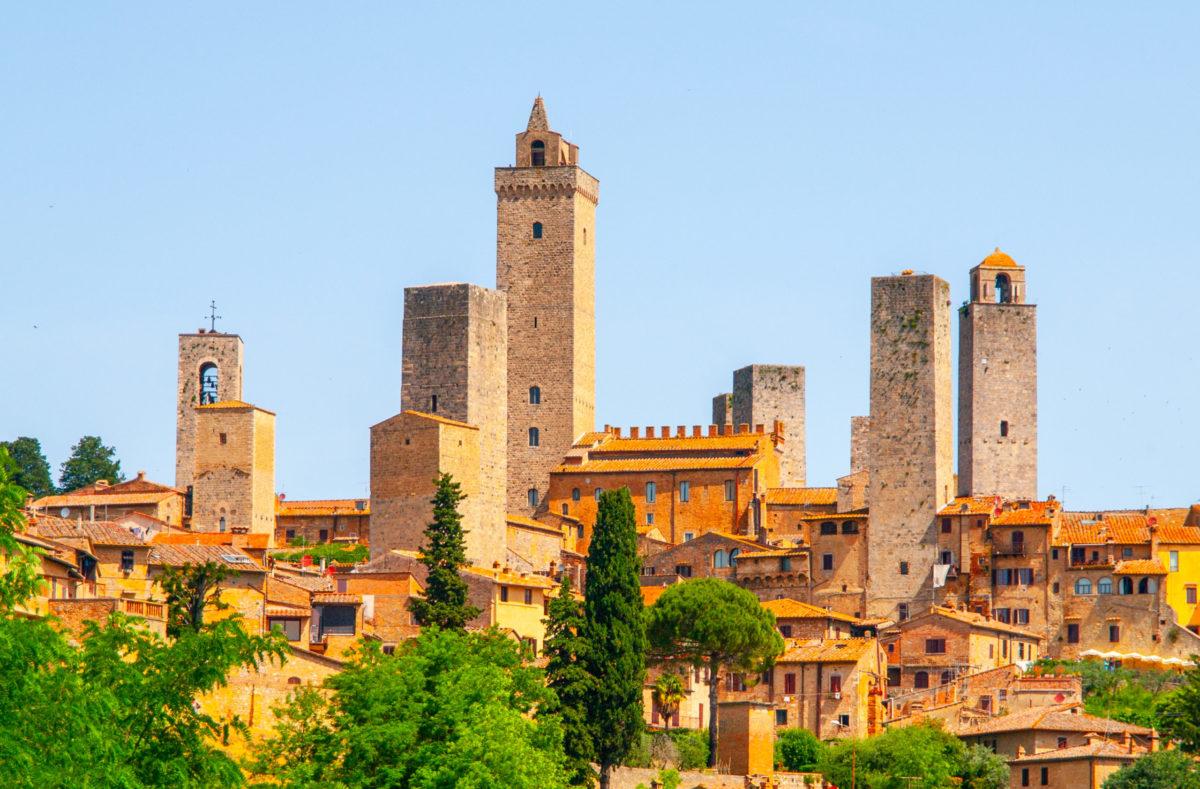 Visite de San Gimignano en Toscane