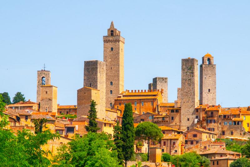 Visite de San Gimignano