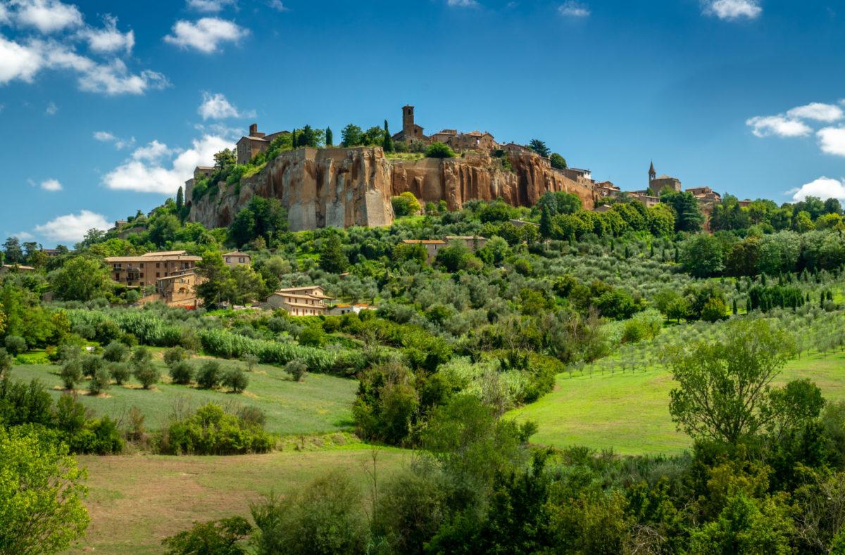 Visite d'Orvieto en Toscane