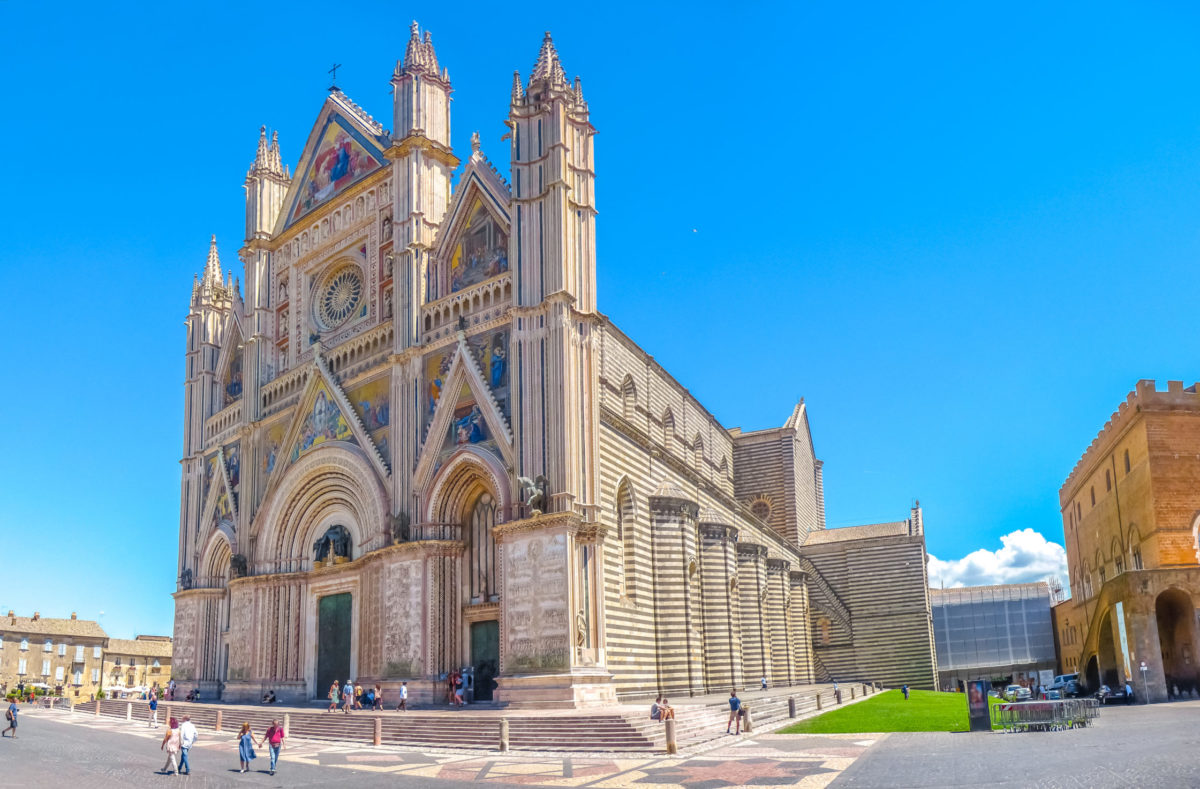 Découverte de la cathédrale d'Orvieto en Toscane
