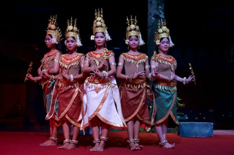 Dans traditionnelle Apsara