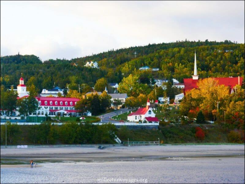 Tadoussac en voyage organisé au Québec en automne