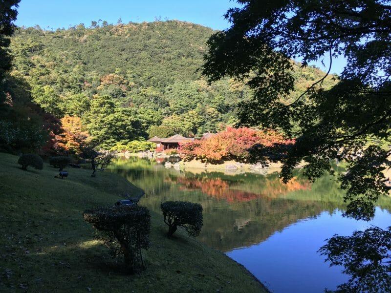 Takamatsu en voyage en groupe au Japon en automne