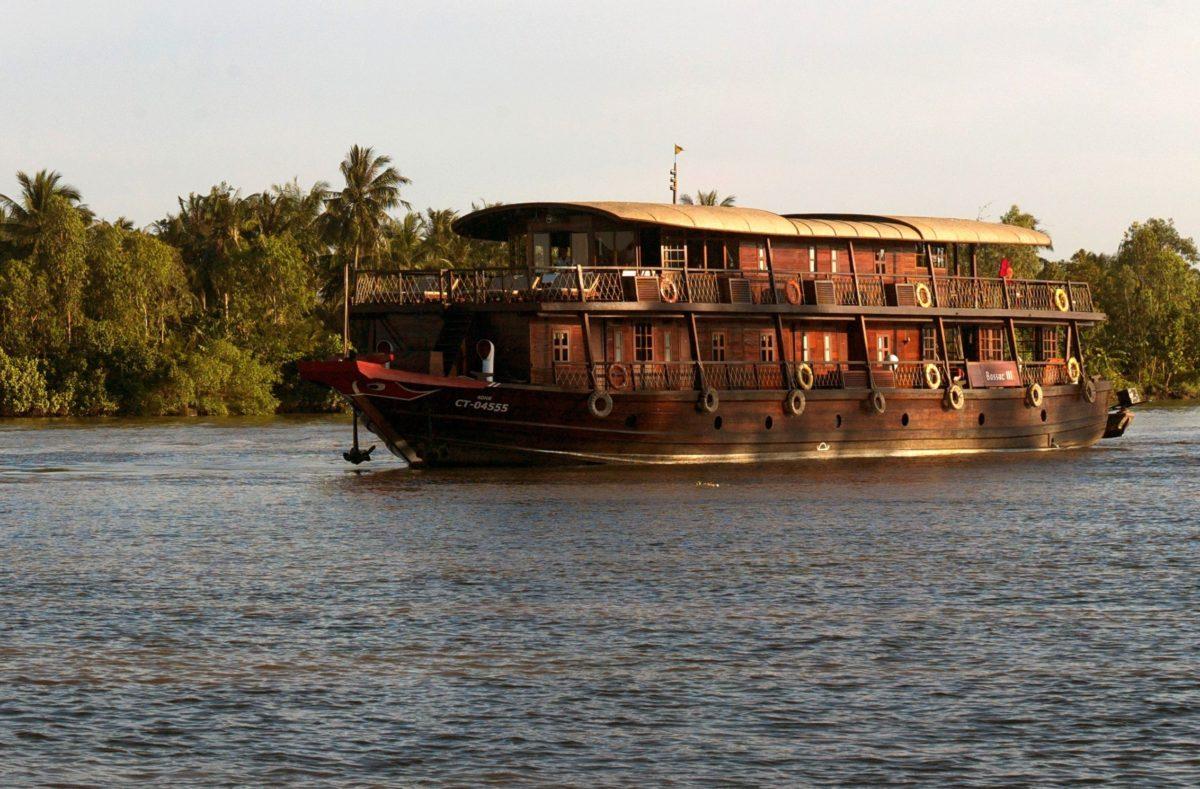 Visite de Bassac Sud Vietnam-Cambodge