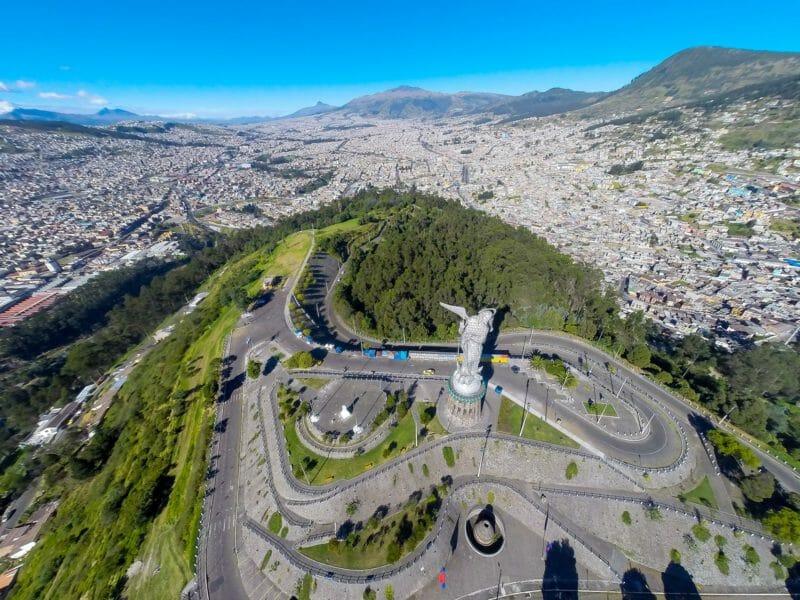 Visite de Quito en voyage en groupe en Equateur
