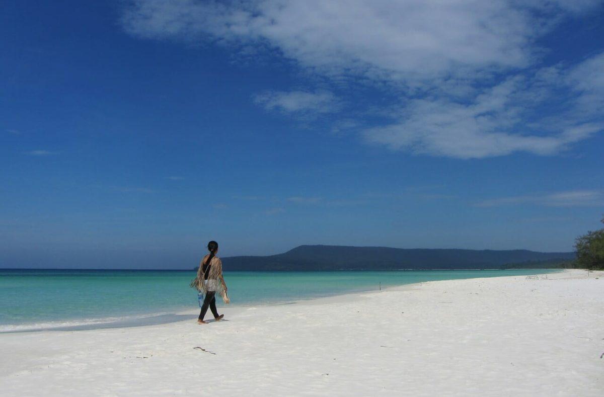Voyage en groupe balnéaire à Koh Rong Cambodge
