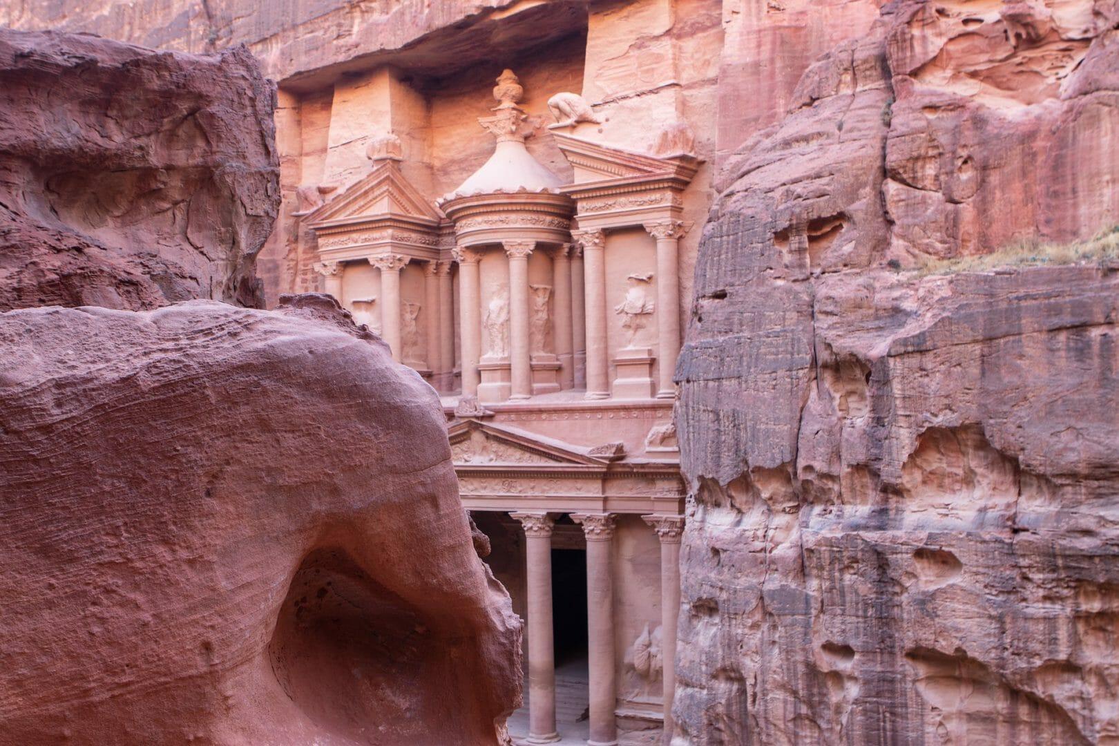 Voyager à Petra avec le film Indiana Jones