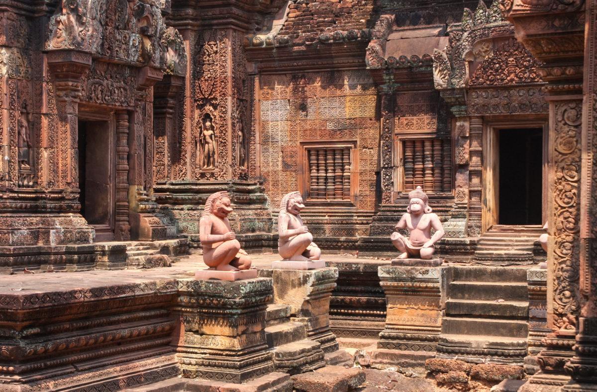 Visite des temples d'Angkor au Cambodge