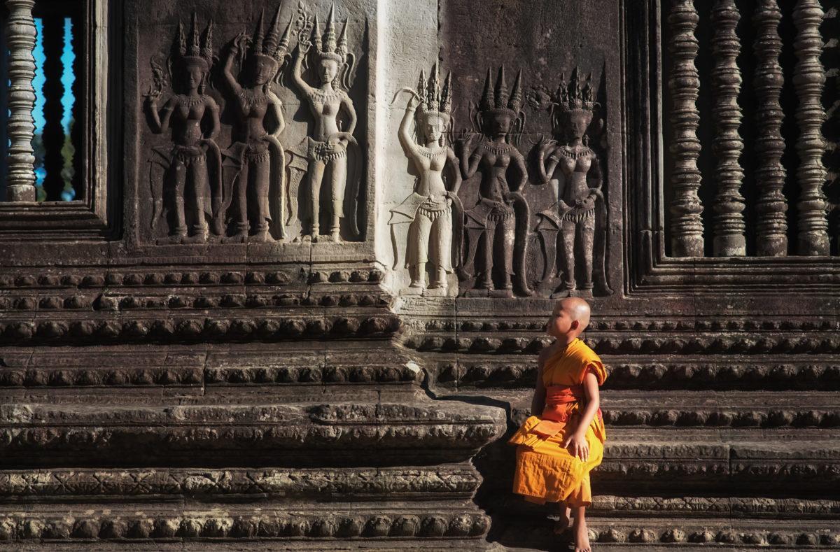 Visite des temples au Cambodge