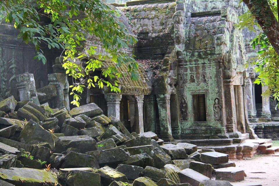 Voyage en groupe à Ta Prohm Cambodge