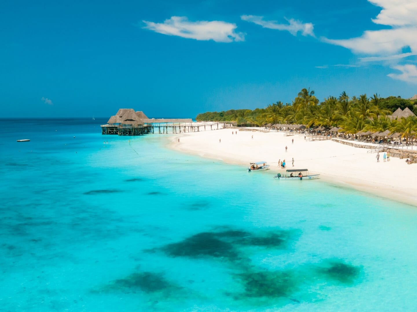 Vacances balnéaires en été au Zanzibar