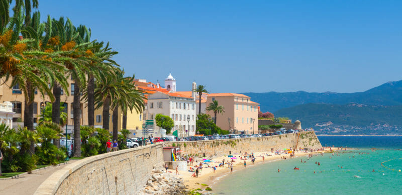 Voyage en groupe à Ajaccio Corse