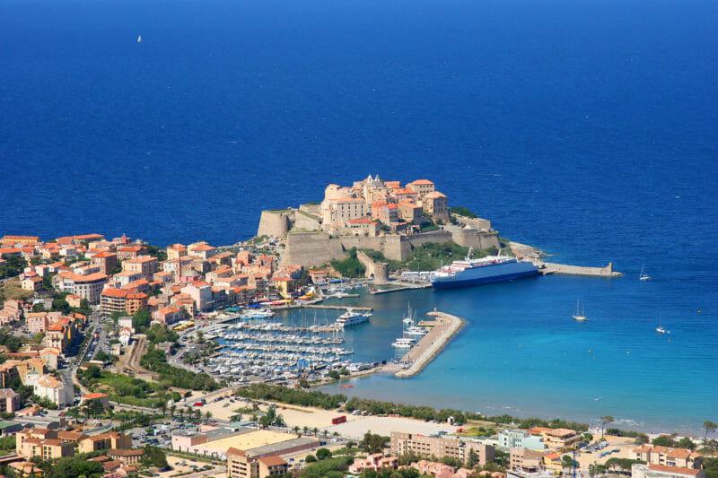 Voyage en groupe à Calvi en Corse