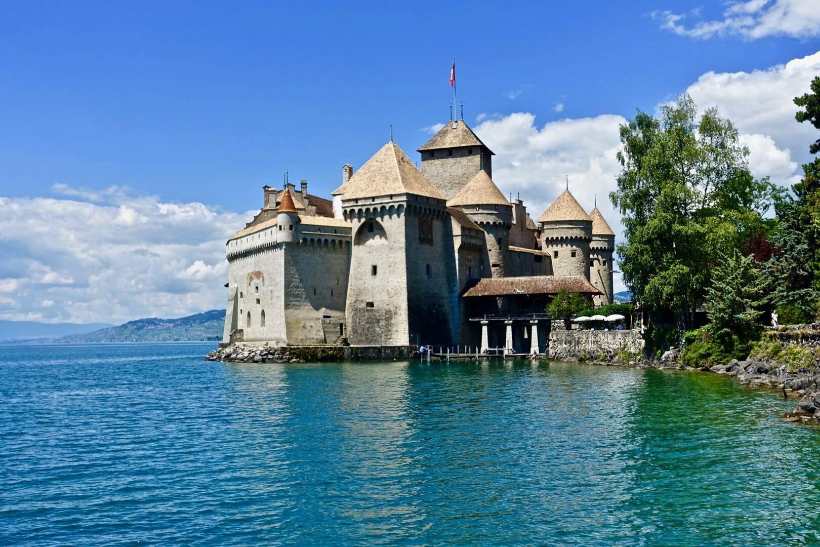 Château de Chillon à visiter lors d'un roadtrip en Suisse