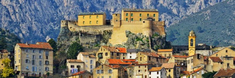 Visiter en groupe Corte en Corse