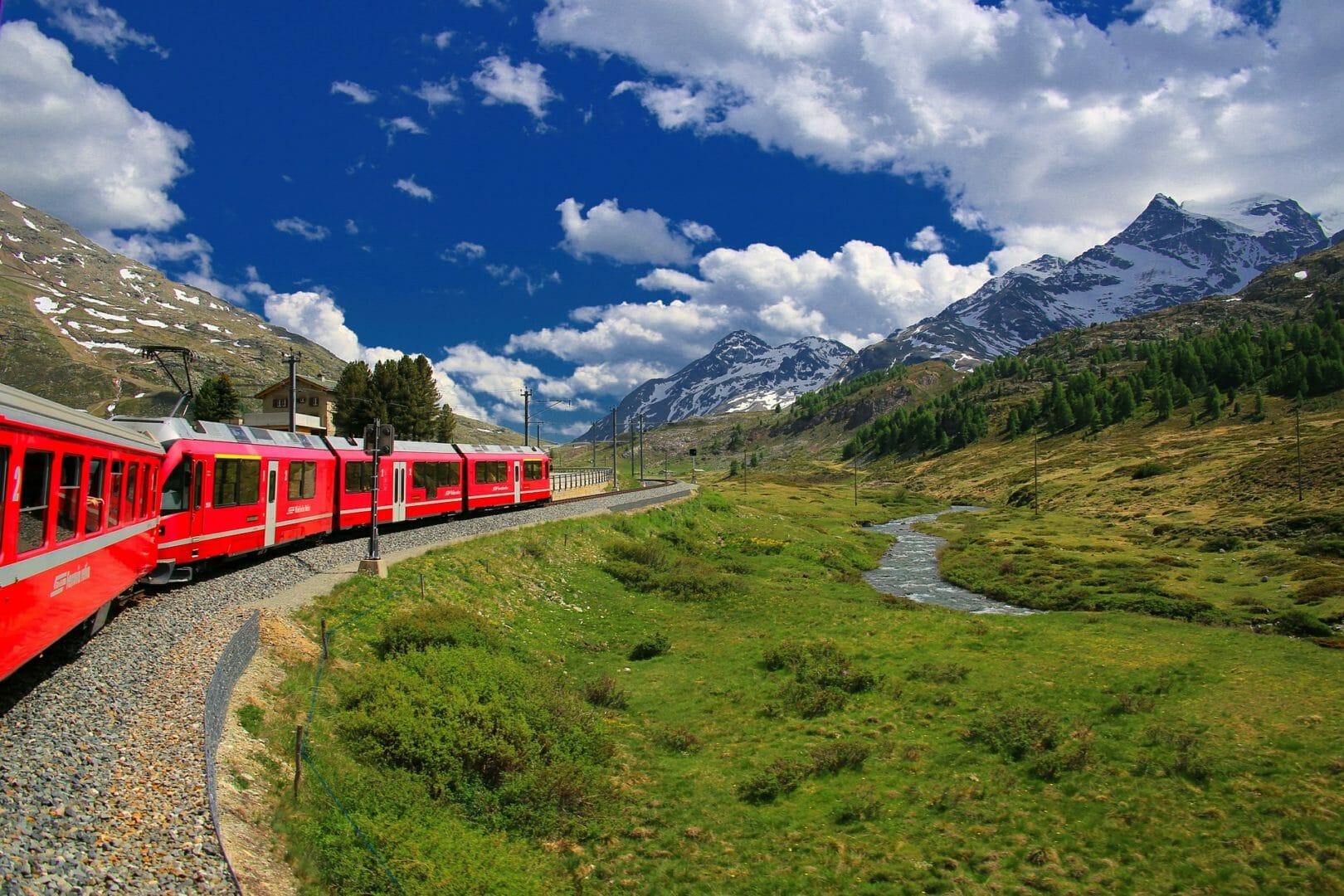 Train mythique Bernina Express
