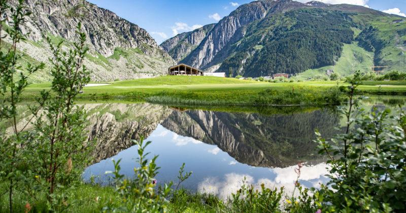 Golf à Andermatt au Andermatt Swiss Alps Golf Course